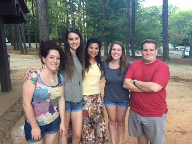 The 2015-2016 GHA Officers at the Welcome Picnic